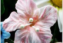 flores de arcilla