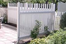 Uteplats/staket