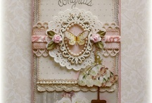 cartes Shabby / Mixed média