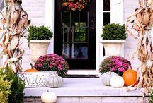 dveře a floristika