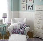 Girl Nursery Ideas / by Sara Bish