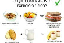 o que comer após o exercicio