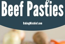 Pasties-butermilk pie crust