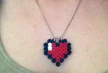 perler beads necklace