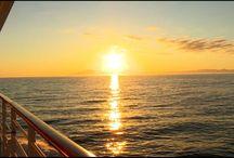 AIDA Sonnenmomente / Erlebe wunderschöne Sonnenuntergänge an Bord von AIDA —  Sonnenuntergang, Sonnenaufgang, Sonnenuntergang Meer, Sonnenuntergang Himmel, Sonnenaufgang Meer, Sonnenaufgang Mornings