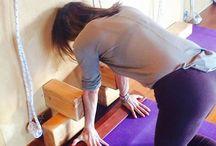 iyenggar yoga block props