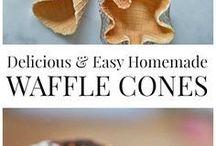 waffel  cones