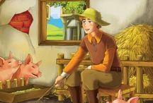 The Swineherd - H.C. Andersen