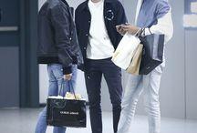 •Airport fashion:boys•