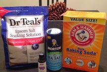 DIY Bath Salts and Bath Bombs