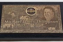 Expressions in Bronze Grave Markers: Individual / Discount prices on individual bronze gravestones designed the way you want. http://www.thecasketstore.com