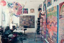 Atelier / Painting