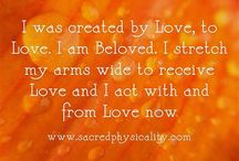 Sacred Physicality ~ Affirmations