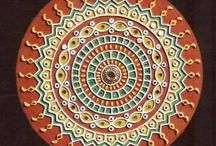 Kutch Lippan work/Mandana paintings