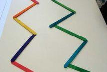 batons de couleur