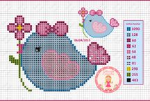 Cross Stitch ~ Animals & Birds