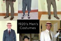 Půlnoc v Nymburce - Men fashion / Zde můžete nalézt užitečné rady a tipy, jak se obléci na dobovou párty.