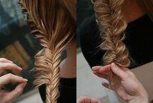 Örgülü Kabarık Saç Modeli