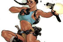 Tomb Raider' Lara Croft.