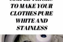 baking soda /white clothes