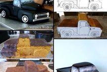 Автомобильные торты
