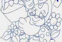 Molde de desenhos