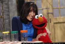 "Sesame Street & me / I was a content advisor for Sesame Street's financial education initiative, ""For Me, for You, for Later: First Steps to Spending, Sharing, and Saving,"" and appeared with Elmo in the outreach videos. A career highlight!"