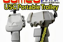 TROLLEY USG PORTABLE MADE-IN-INDONESIA