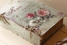 scatola vintage