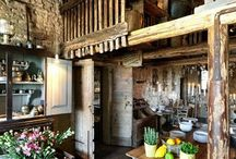 Country kitchen ...