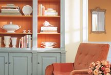 Terracotta color scheme