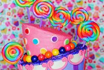 Lollipops cakes