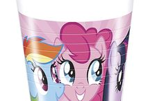 MY LITTLE PONY PARTY SUPPLIES / Relive the magic and charm of the most popular animation series by throwing a My Little Pony themed party for your little Equestrian lover. Choose from an adorable range of My Little Pony party supplies. Let your party be the talk of the town with our My Little Pony themed napkins, cups, plates and tableware. Your little girl and her friends are going to love this colourful and enchanting party.