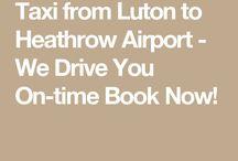 London Luton to Heathrow Transfer