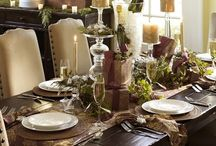 Christmas Table decorating ideas / Christmas Decorating Ideas