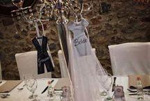 Bride & groom theme wedding