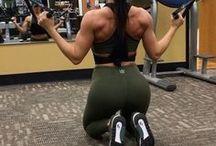 back & shoulder work