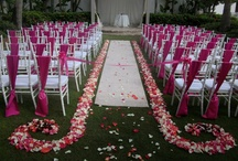 Weddings / Take a look at the lighting, draping, florals, and event set-up that can be done to make your wedding special!