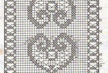 graficos tapete croche
