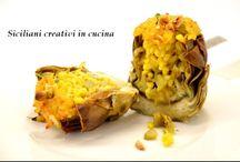 Ricette con carciofi - Artichokes recipes
