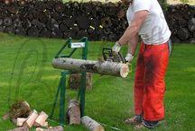 Skogsarbeid / Utstyr og metoder osv.