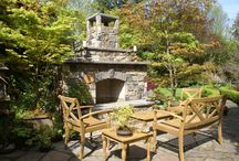 Stone Fireplace Ideas / Fireplaces add the ultimate in sophisticated comfort to any space