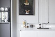 Des meubles XL pour une cuisine minimaliste