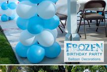 Tianah's 3rd Birthday - FROZEN