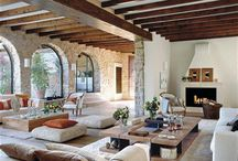 living room provence