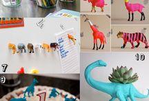 Plastica animal craft