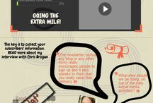 Enchanting Lawyer: Social Media Infographics / How to become a King of Content Marketing