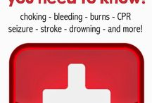 First Aid & CPR / Take some time to learn first aid and CPR.  It saves lives and it works.