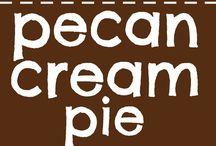 Cream Pecan Pie
