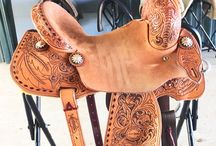 Ella's saddle